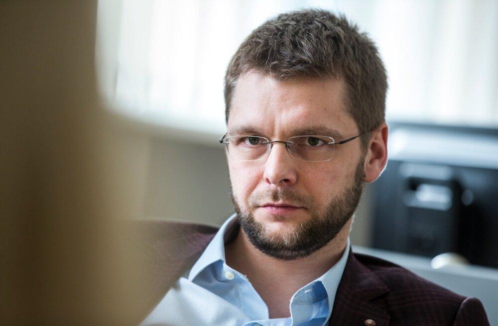 Kadri Simson intervjueerib Jevgeni Ossinovskit
