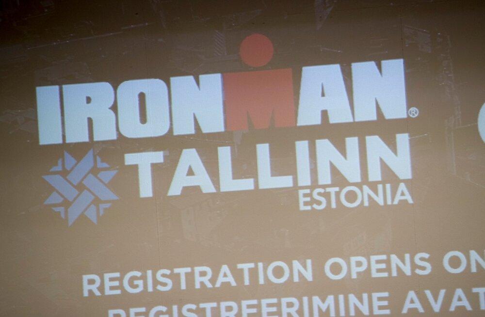 Ironman Tallinna tutvustav pressikonverents