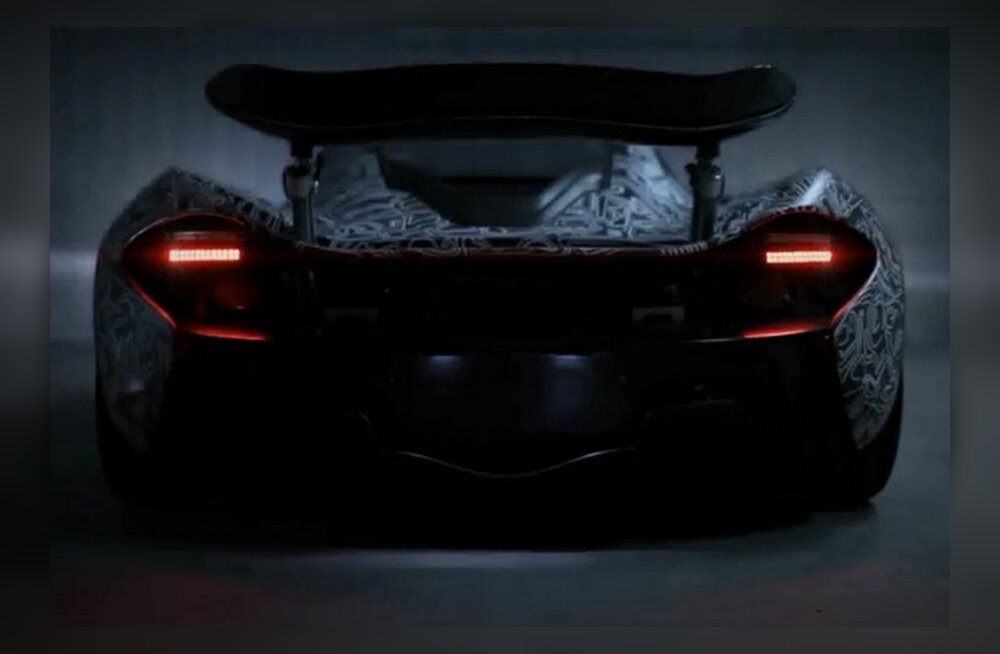 McLareni superauto P1 on peaaegu tootmisküps