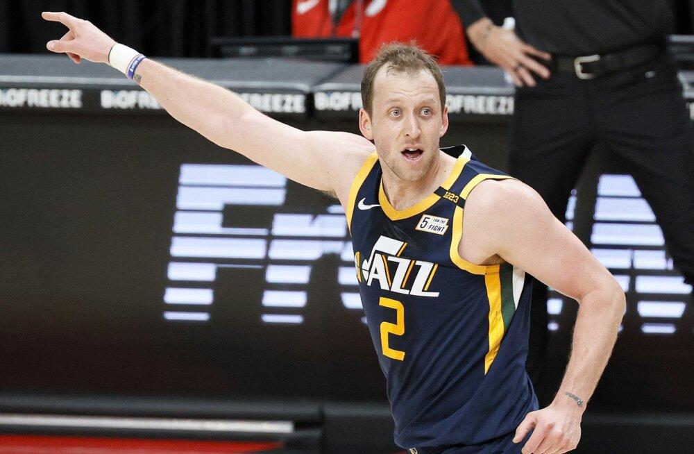 Utah Jazzi ääremängija 418 mängu pikkune seeria lõppes valuliku Achilleuse tõttu