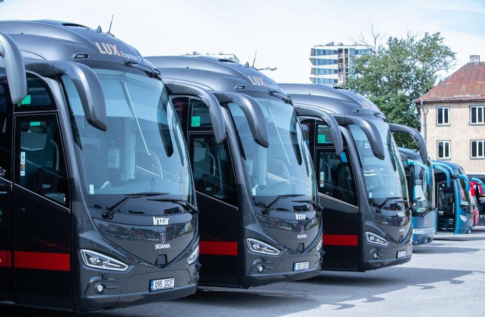 Lux Expressi uued bussid 2019