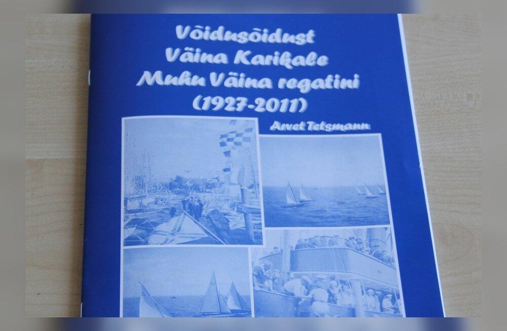 """Kogumik """"Võidusõidust Väina Karikale Muhu Väina regatini (1927-2011)"""""""