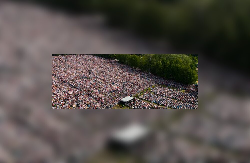 FOTOD ja VIDEOD: Laulupidu sai üleva lõpu!