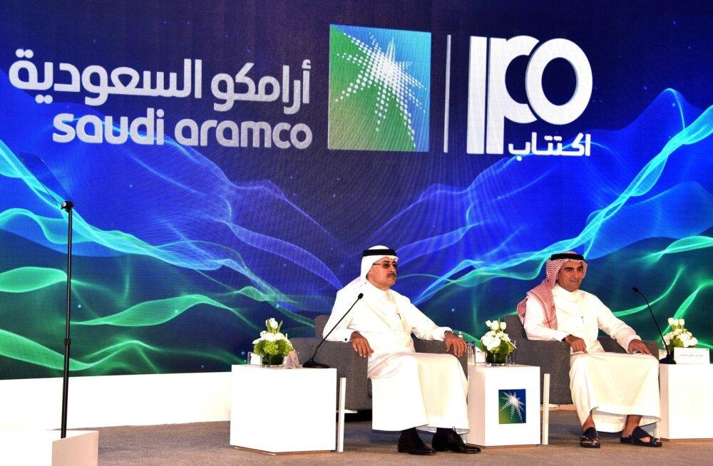 Saudi Aramco andis täna teada oma börsile mineku aja.