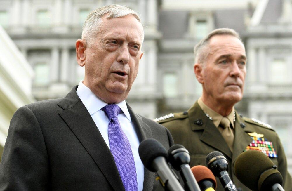 USA kaitseminister Mattis ähvardas Põhja-Koread massiivse sõjalise vastusega