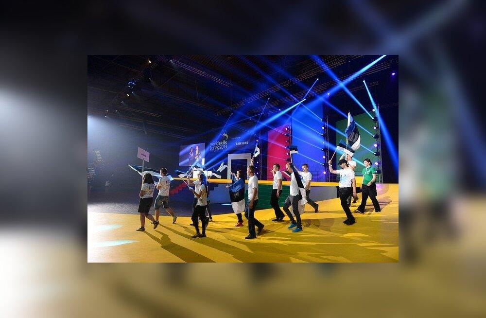 FOTOD: Kutsehariduse olümpia WorldSkills 2013 on täies hoos