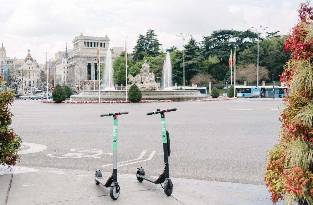 Новое развлечение для туристов: на самокатах Bolt теперь можно покататься в Мадриде