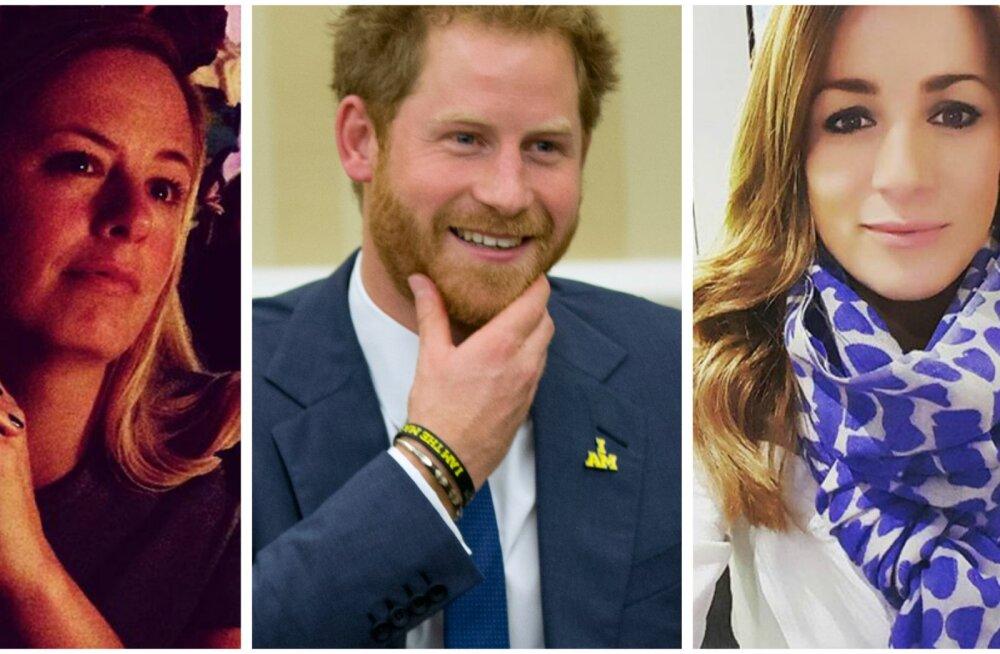 Mida rohkem, seda uhkem! Prints Harry pidutses koos oma kahe piltilusa eksiga