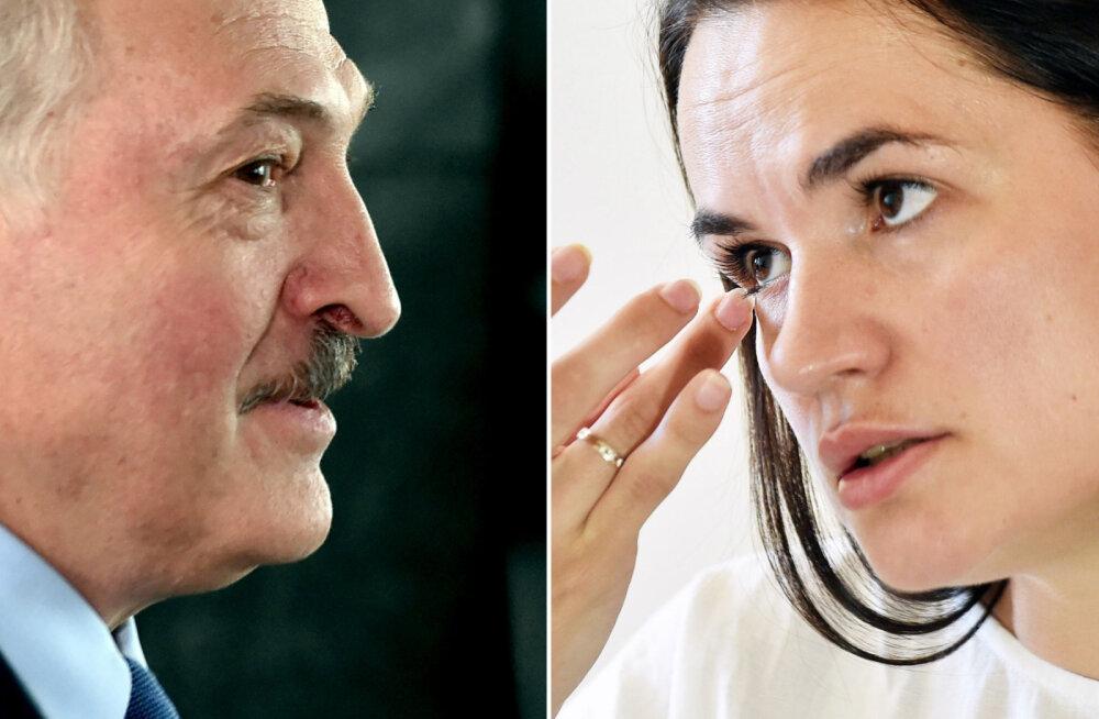 Lukašenko ja Tikhanovskaja