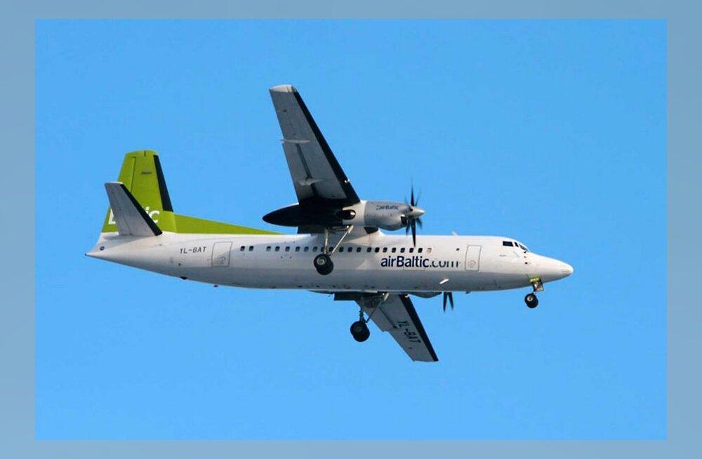 Раазуке: объединение Estonian Air с латвийской авиафирмой Airbaltic нереально