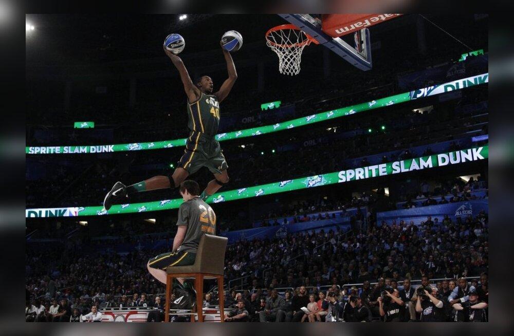 Selgusid NBA pealtpanekute ja kolmepunktivisete võistlusel osalejad