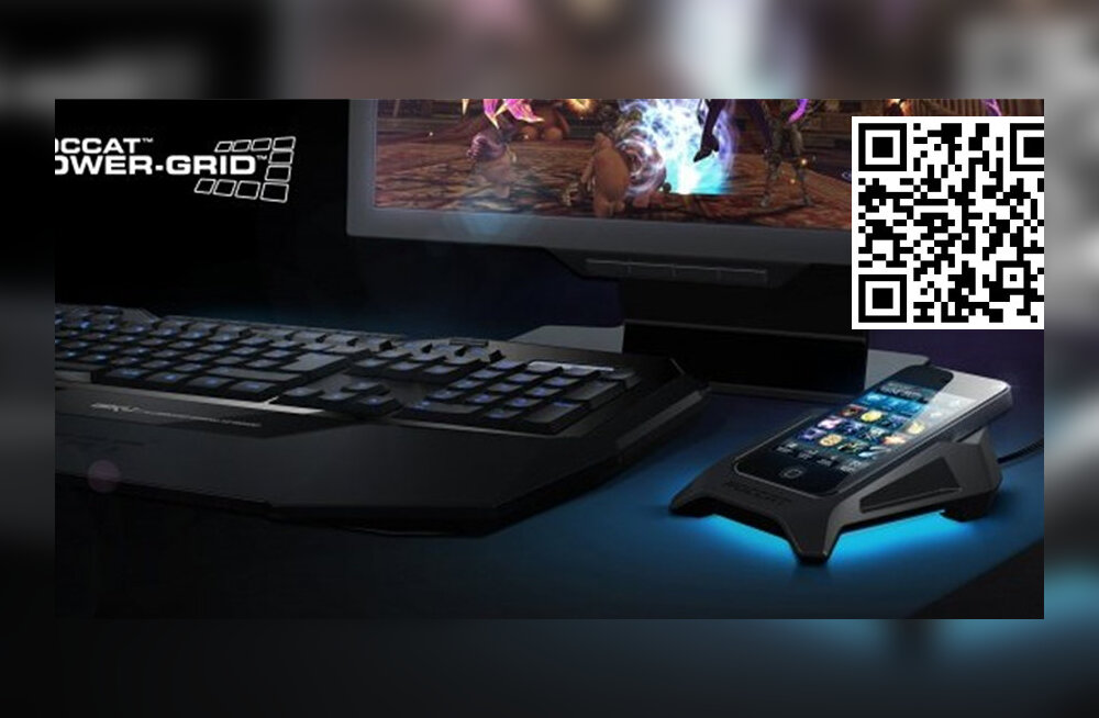 Androidi nutirakendus Roccat Power-Grid – kiiksuga kaugjuhtimisvahend sinu arvutile