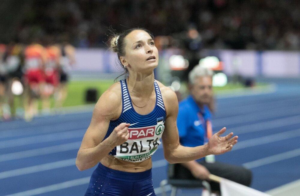 Ksenija Balta peaks VEM-il võistlema nii kaugushüppes kui ka 4 × 100 m teatejooksus.