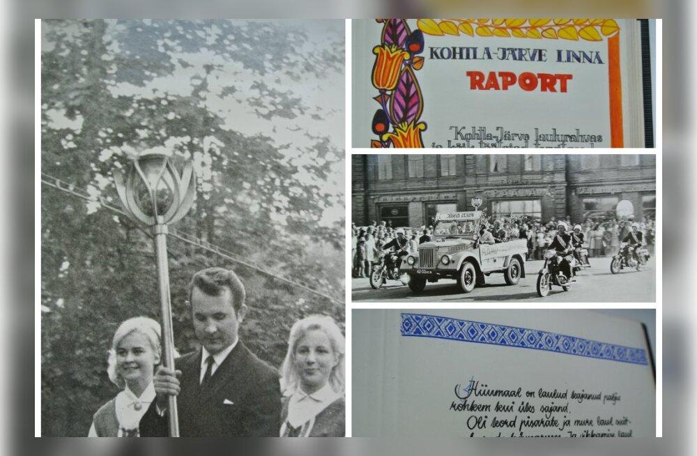 TÄISMAHUS: 1969. aasta laulupeo tuli rändas Eestis Lenini nime, kuid isamaaliste mõtete saatel