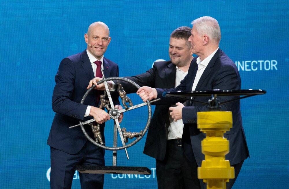 Balticconnectori pidulik avatseremoonia Paldiskis