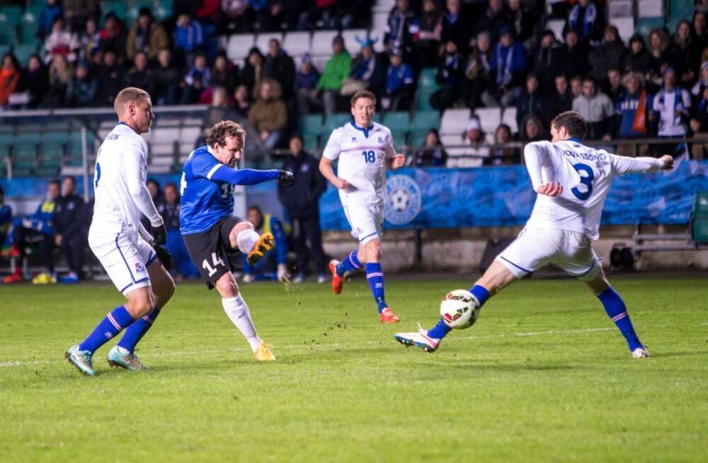 Jalgpall Island vs Eesti