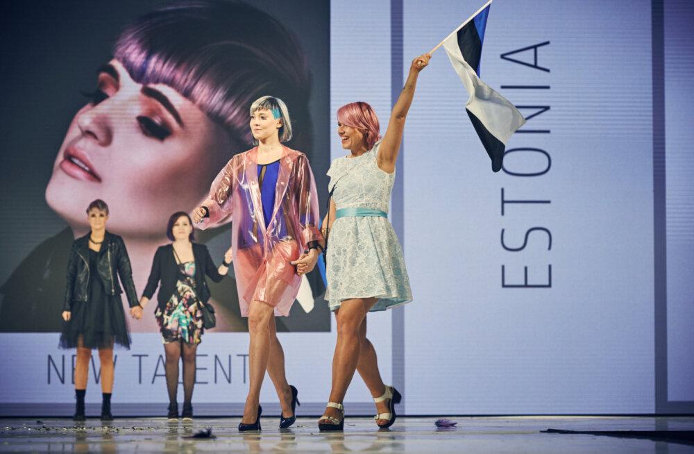 Vapustav! Eestlane Helen Heinroos võitis Las Vegase ülemaailmsel juuksestilistide festivalil esikoha