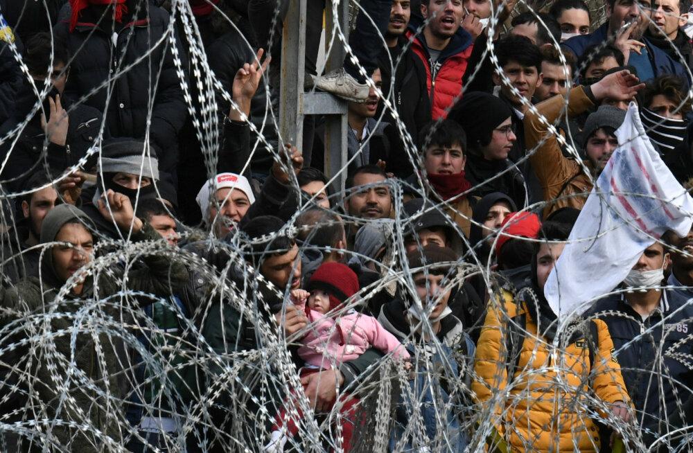 Türgi president Erdoğan ähvardas Euroopa Liitu miljonite migrantidega