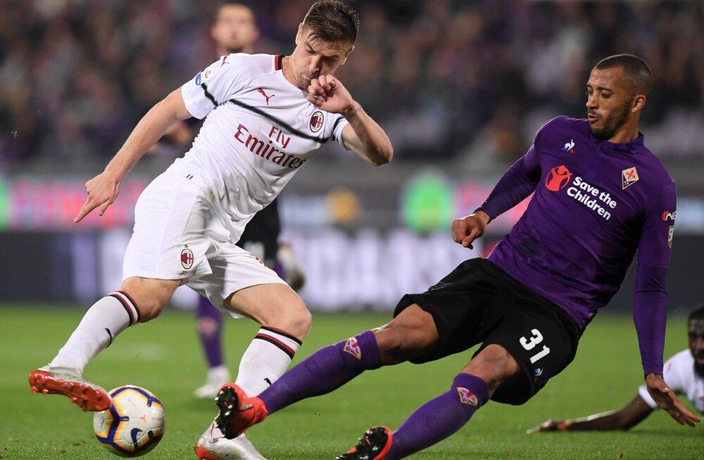 AC Milani ja Fiorentina mäng