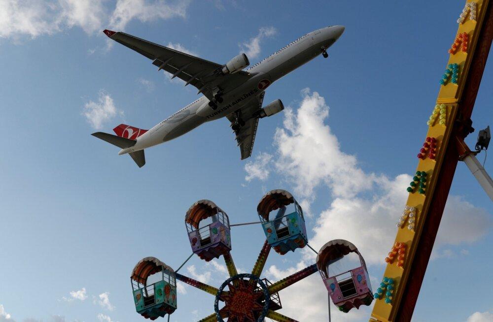 Loll pomminali sundis Turkish Airlinesi lennuki Sudaanis hädamaanduma