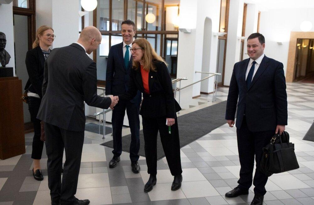 Swedbank juhid Eesti Pangas