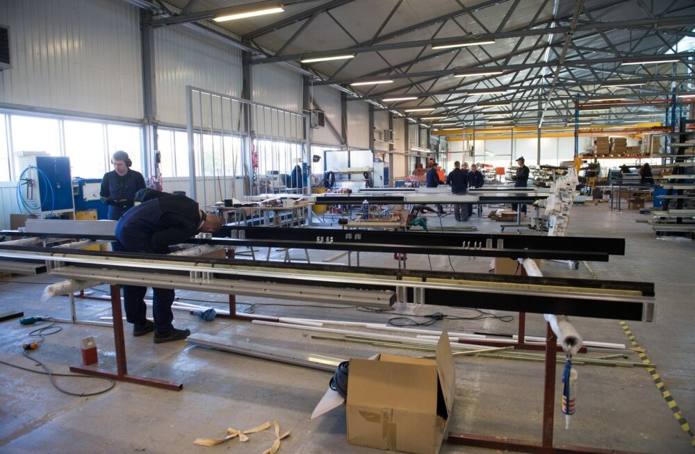 AS-i Windoor tootmishoone Eestis. Nende klaasfassaadide tootmise hiigelprojekt Kasahstanis läks untsu.