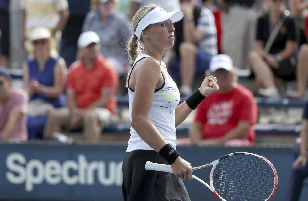 Enesekindlusest pakatav Anett Kontaveit: kui mängin head tennist, võib juhtuda häid asju