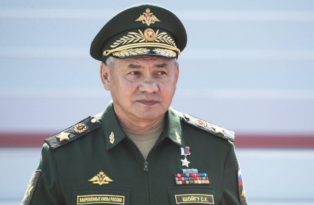 Minskisse saabus Venemaa kaitseminister Sergei Šoigu