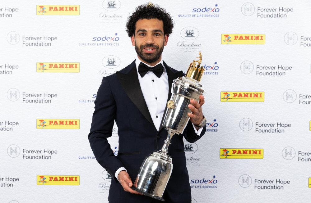 Mohamed Salah tunnistati Inglismaa parimaks mängijaks