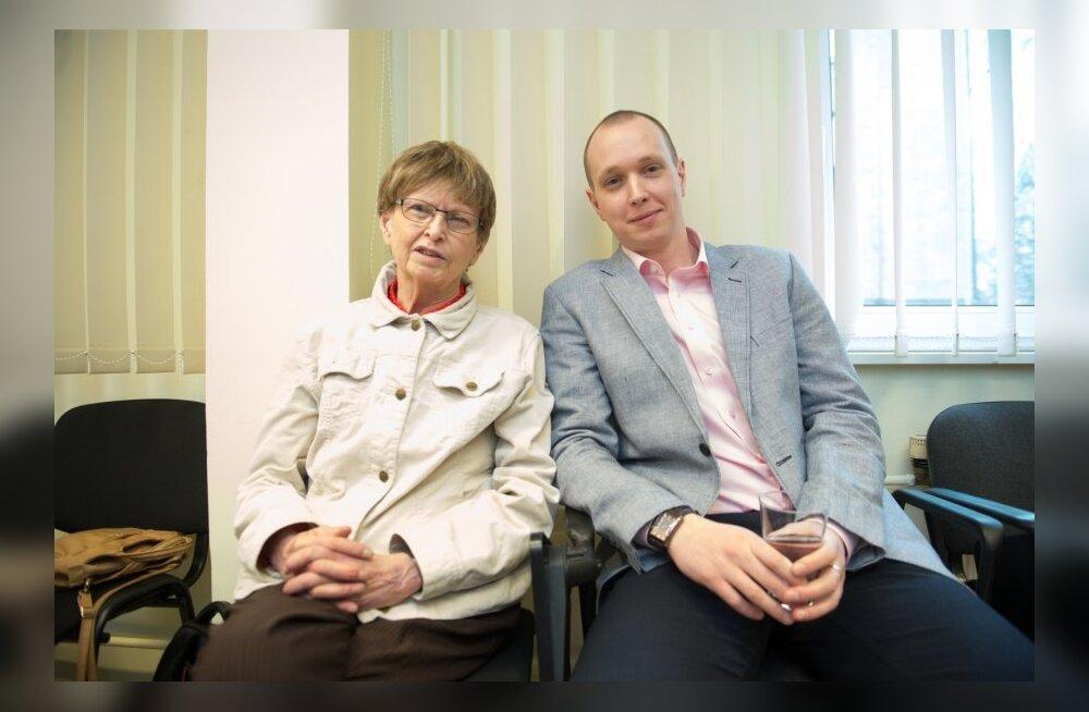 Hille ja Toivo Tänavsuu vähiravifondi avaüritusel