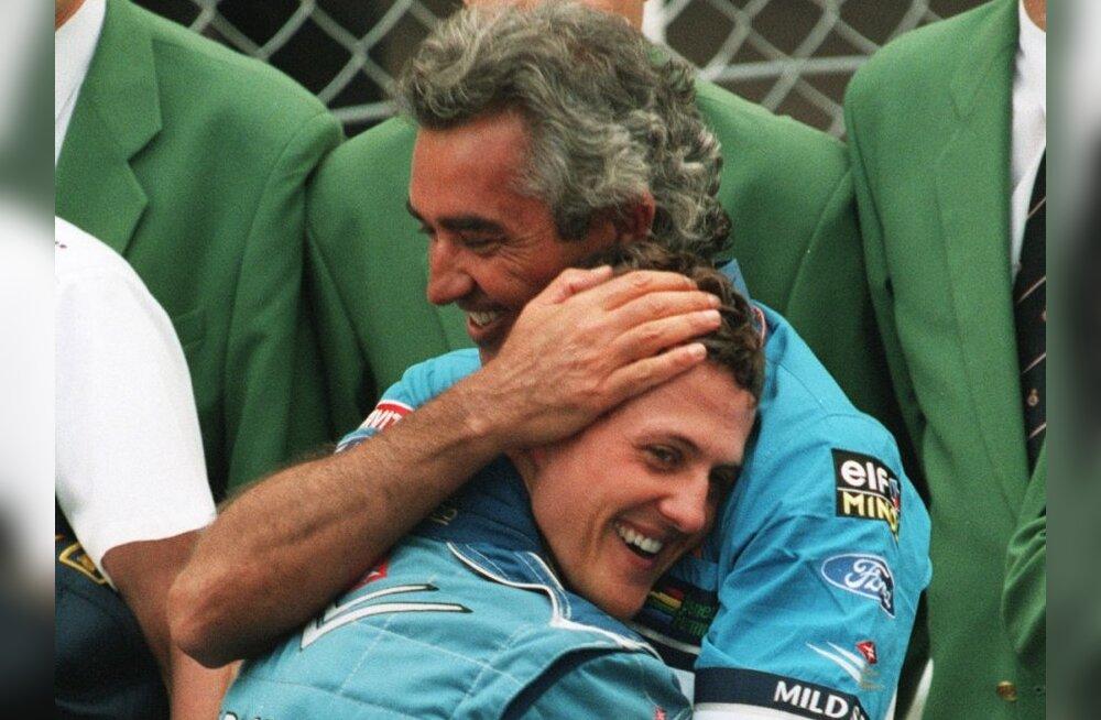 Flavio Briatore: Alonso on Schumacherist natuke parem