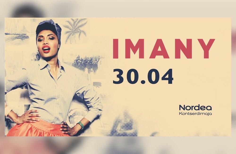 Впервые в Таллинне — дива соул-музыки Imany