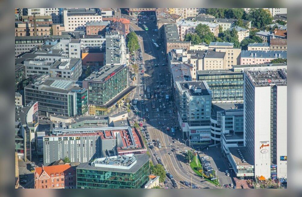 Ummikud ja Tallinna kesklinnliiklused õhust