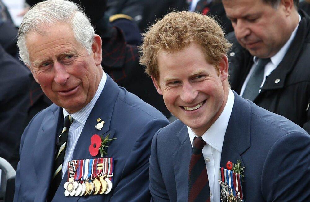 KLÕPS | Prints Harry soovib armsa ja ennenägematu fotoga oma isale õnne: pildile on kaasatud ka pisike Archie!