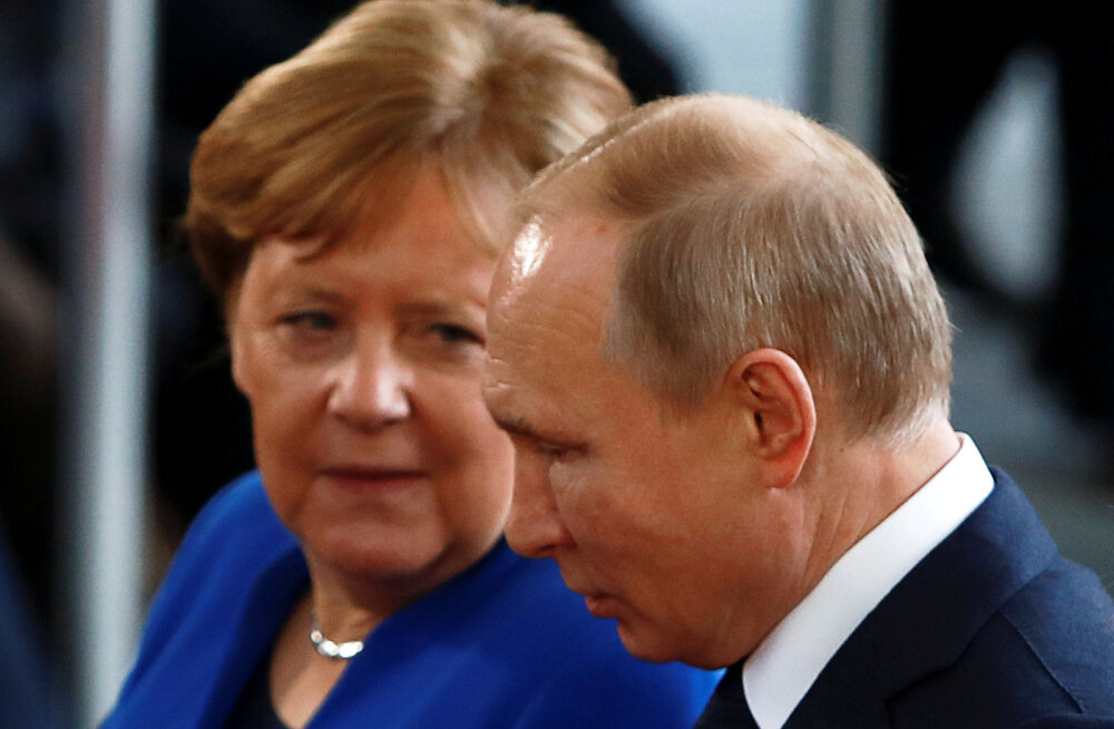 Merkel ja Putin vestlesid telefonitsi Valgevene olukorrast