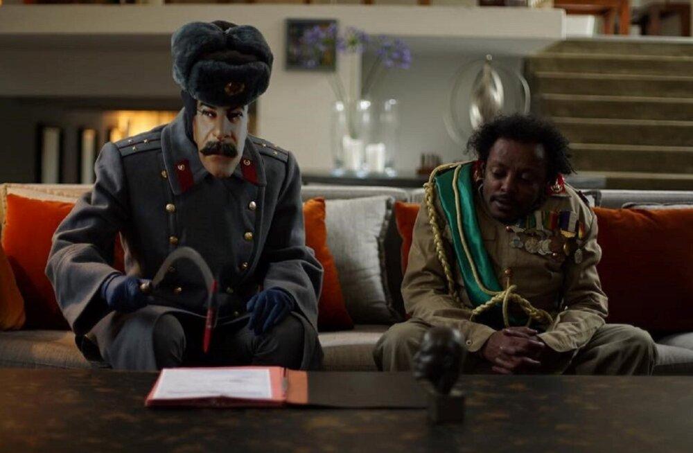 """Algasid afrofuturistliku ulmefilmi """"Jeesus näitab sulle teed kiirteele"""" Eesti võtted"""