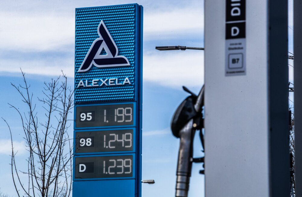 Kütusehinnad Tallinna bensiinijaamades selle aasta aprillis