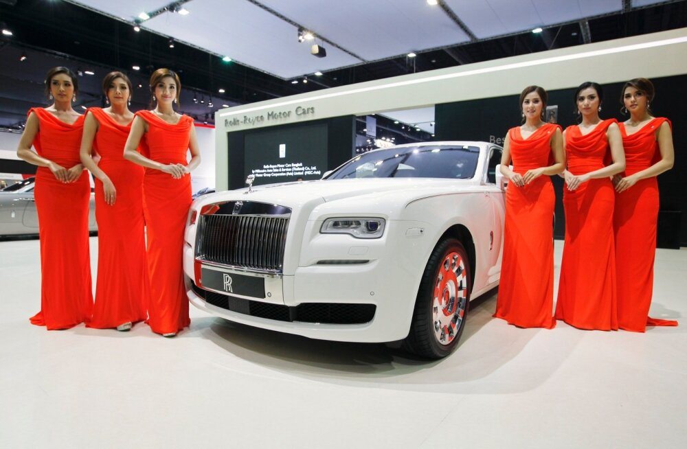Briljantne teostus: Rolls-Royce Ghost