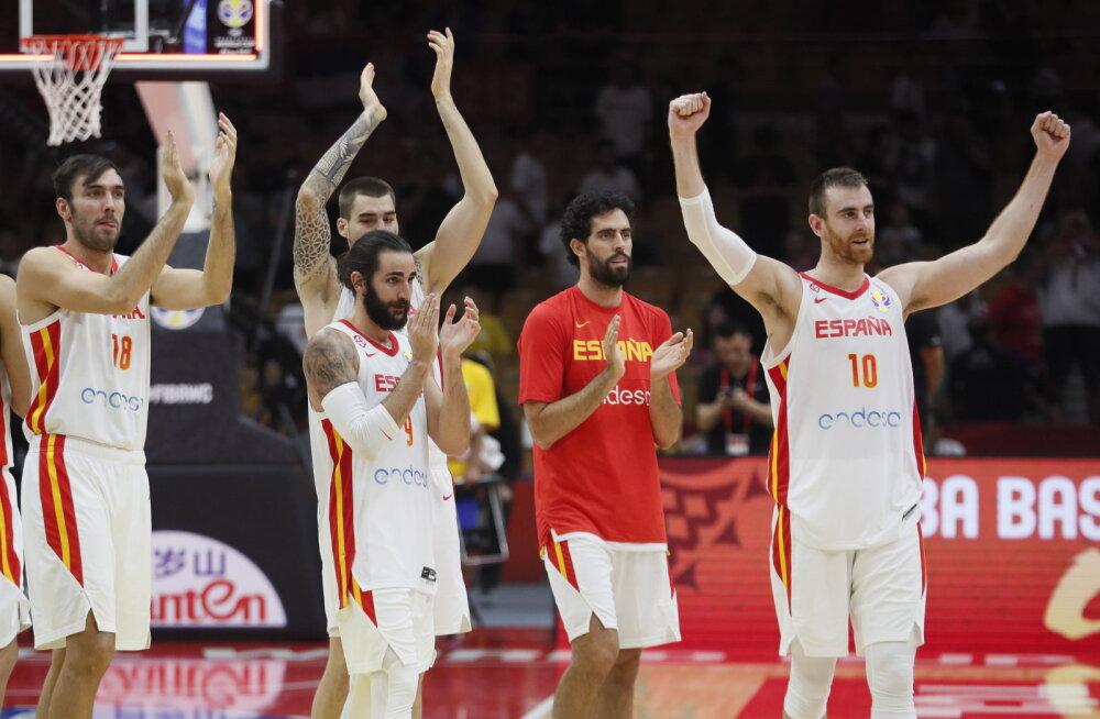 KORVPALLI MM-i BLOGI | Hispaania võit tegi seisu veelgi segasemaks, oodatuim vastasseis võib tulla juba poolfinaalis