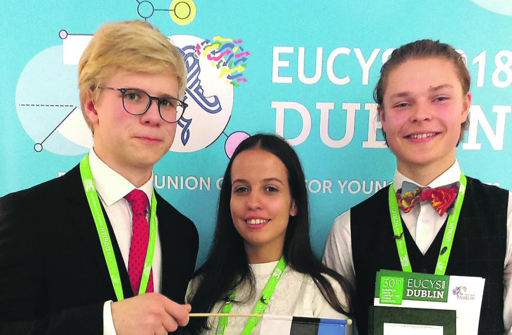 MEIE MAA | Karl Hendrik Tamkivi võitis EL-i konkursil teise preemia