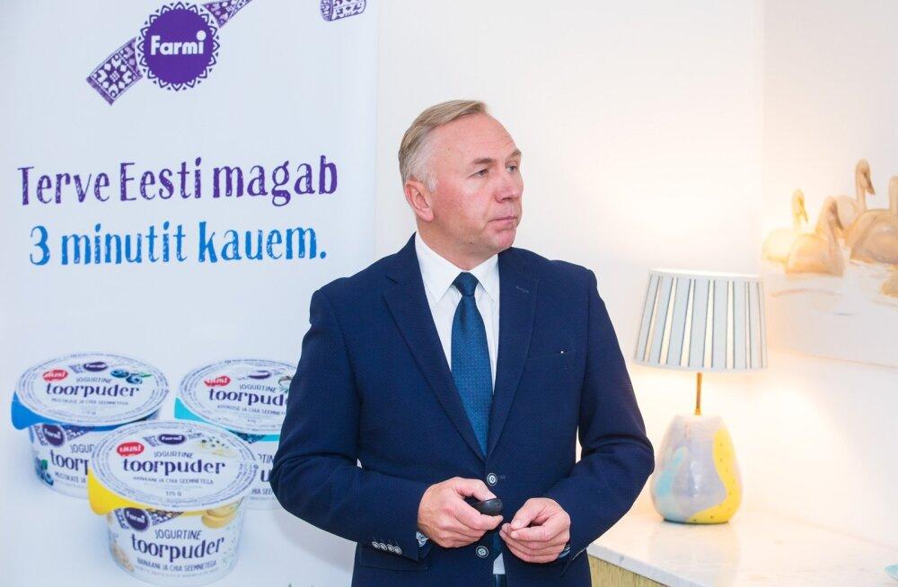 Tere ja Farmi piimatööstuste pressikonverents