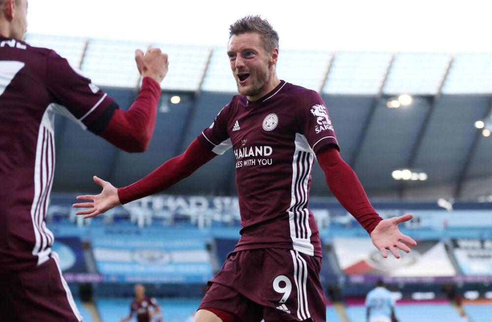 Tõeline tulevärk: Manchester City ja Leicester City kohtumises sai näha seitset väravat ja kolme penaltit