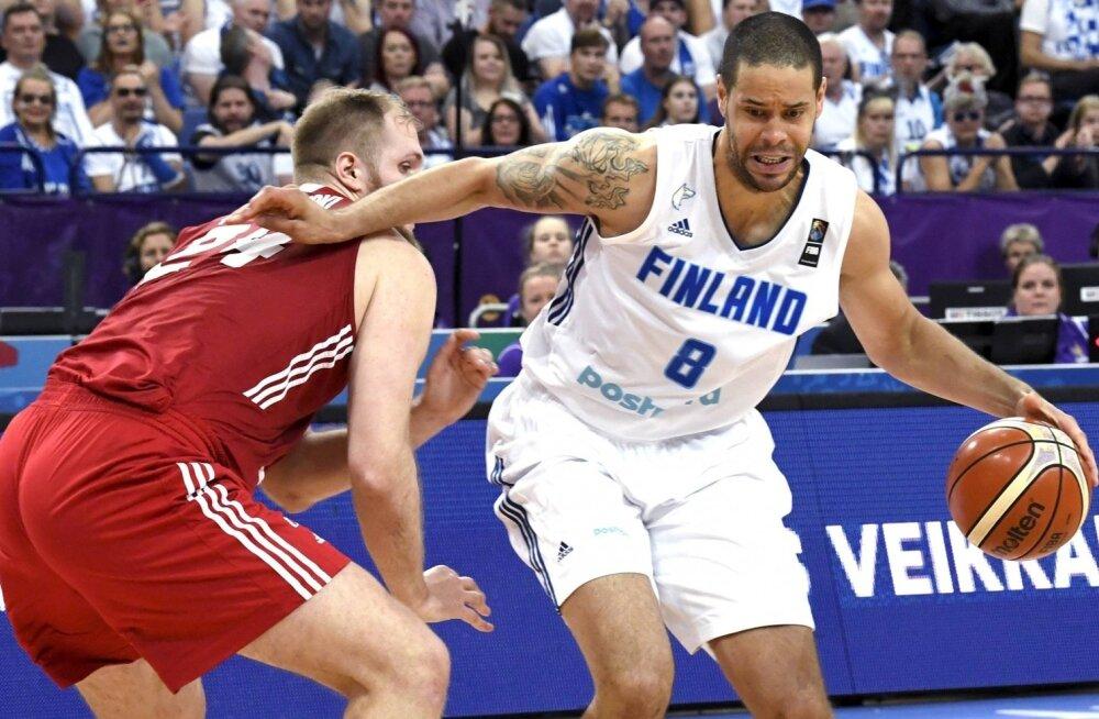 EM-i kohtumine Soome-Poola, palliga Gerald Lee Jr