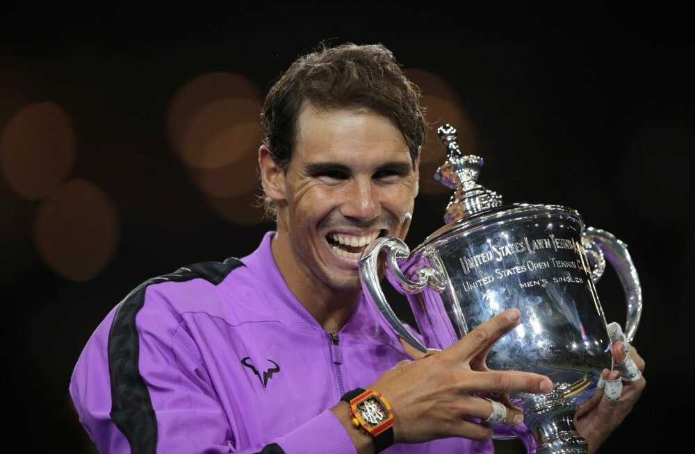 Rafael Nadal korjas kollektsiooni järjekordse suure karika.