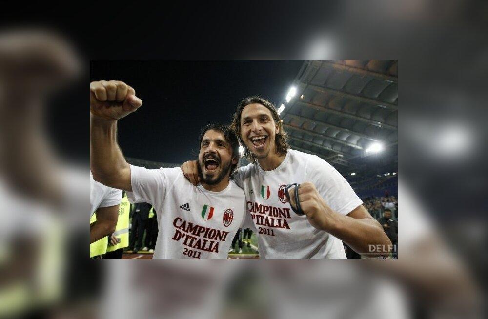 Gennaro Gattuso Milani päevil Zlatan Ibrahimoviciga