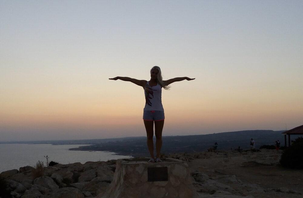 Triin oma Nipernaadi-teekonnal Küprost avastamas