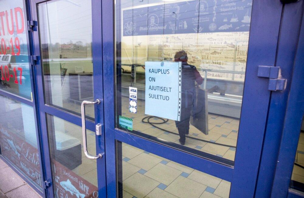 M.V.Wooli tehase kõrval asuv Mati kalapood on suletud.