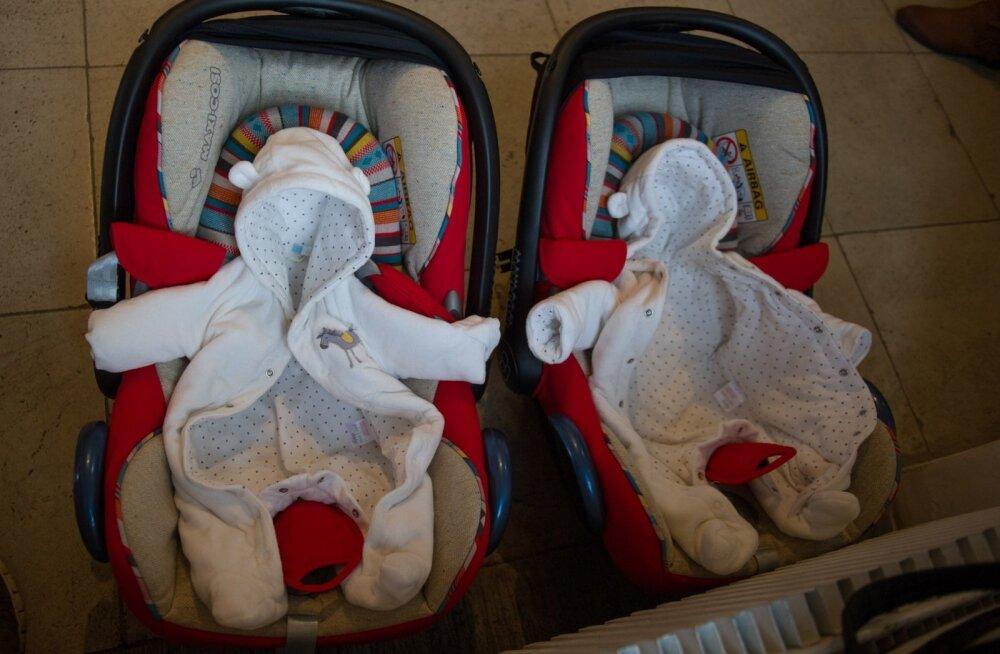 Lumisel maipäeval sündinud kaksikud said nimeks Lumi ja Rahe