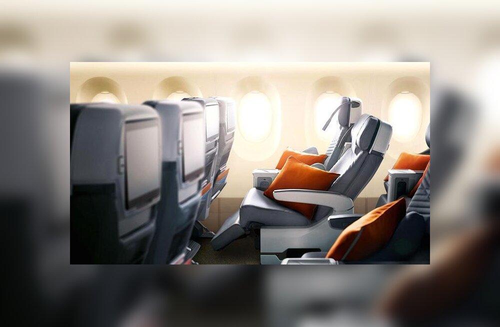 Taasavatakse maailma pikim lennuliin. Reisil poputatakse isegi turistiklassis reisijaid