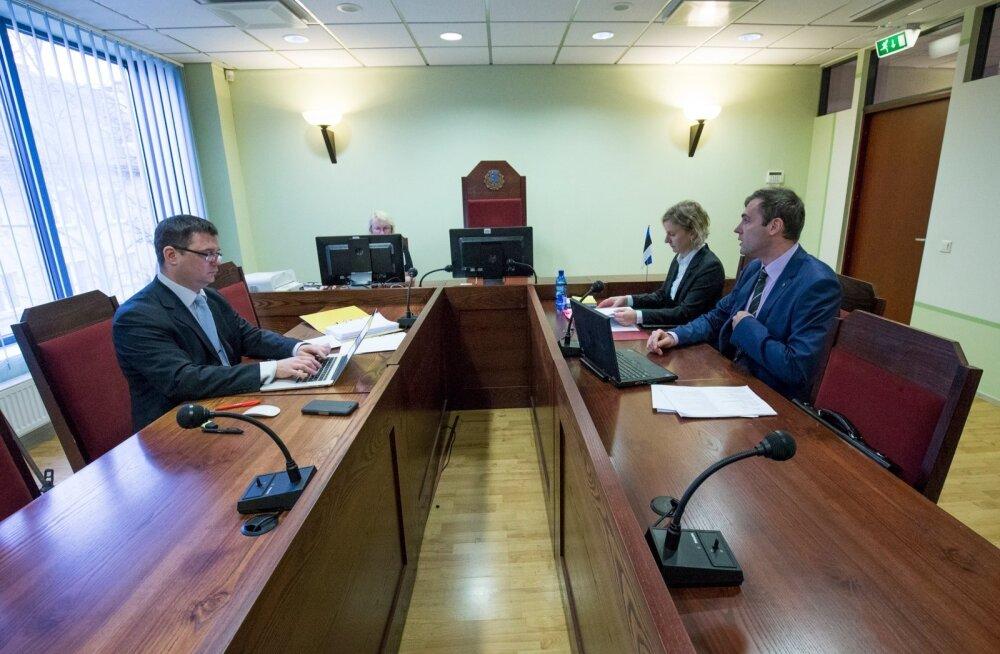 Pilootide ametiühingu hagiavaldus Estonian Airi vastu arutamine